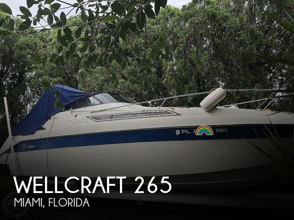 1989 Wellcraft boat for sale, model of the boat is Antigua 265 & Image # 1 of 40