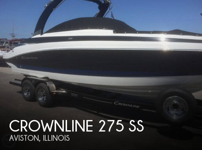 Used Boats For Sale in St. Louis, Missouri by owner | 2017 Crownline 27