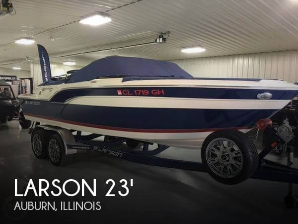 Used Boats For Sale in Springfield, Illinois by owner | 2013 Larson 23