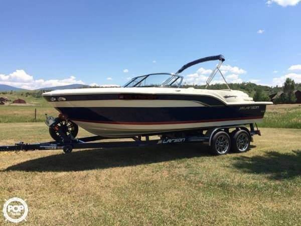 2013 Larson boat for sale, model of the boat is All American 23 & Image # 3 of 14