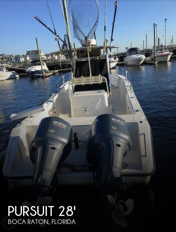Used Pursuit Boats For Sale by owner | 2004 Pursuit 28