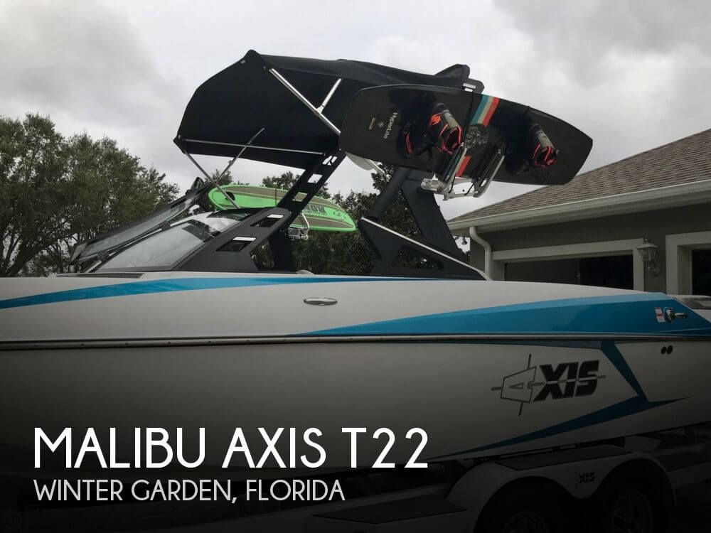 Used Ski Boats For Sale in Florida by owner | 2016 Malibu 22