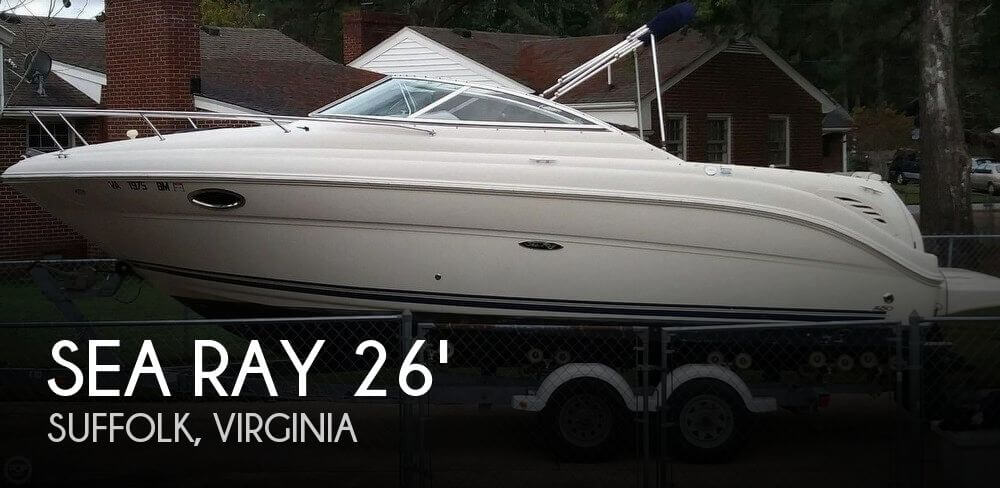 Used Sea Ray 25 Boats For Sale by owner | 2006 Sea Ray 250 Amberjack