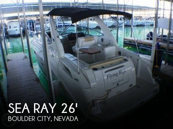 Used Sea Ray 26 Boats For Sale by owner | 2011 Sea Ray 260 Sundancer