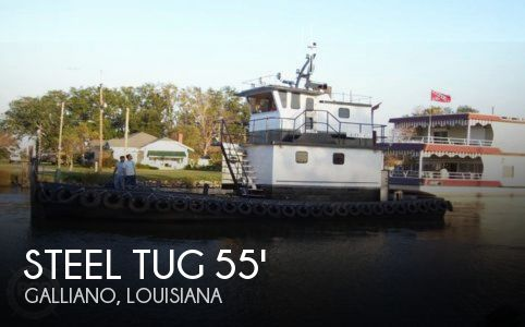 Used Boats For Sale in New Orleans, Louisiana by owner | 1981 Steel Tug 55