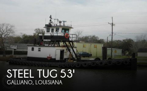 Used Boats For Sale in New Orleans, Louisiana by owner | 1974 Steel Tug 53