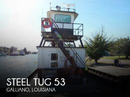 1974 Steel Tug 53 Tug Tow Support Vessel CN