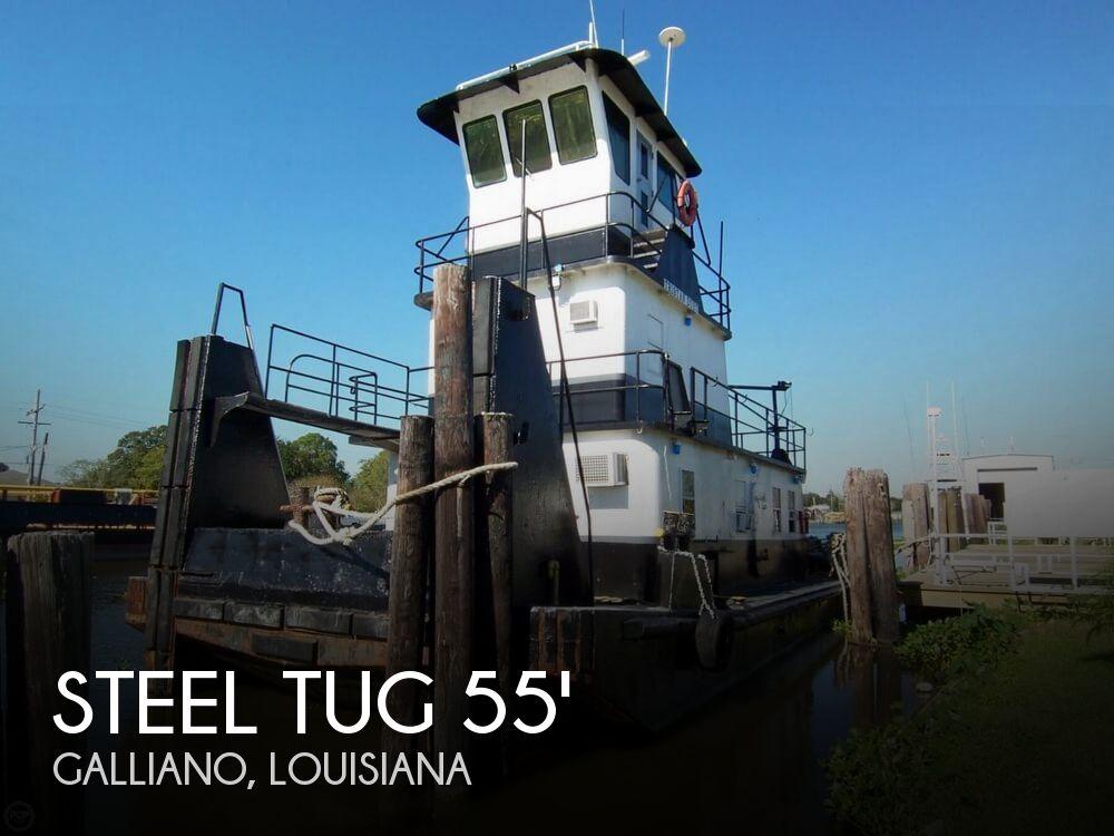 1979 Steel Tug 55 Tug Towing Vessel TD