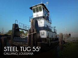 1979 Steel Tug 55 Tug Towing Vessel TD