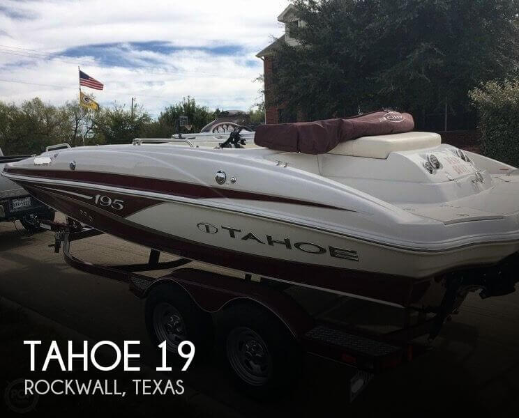 Used Tahoe Deck Boats For Sale by owner | 2014 Tahoe 19