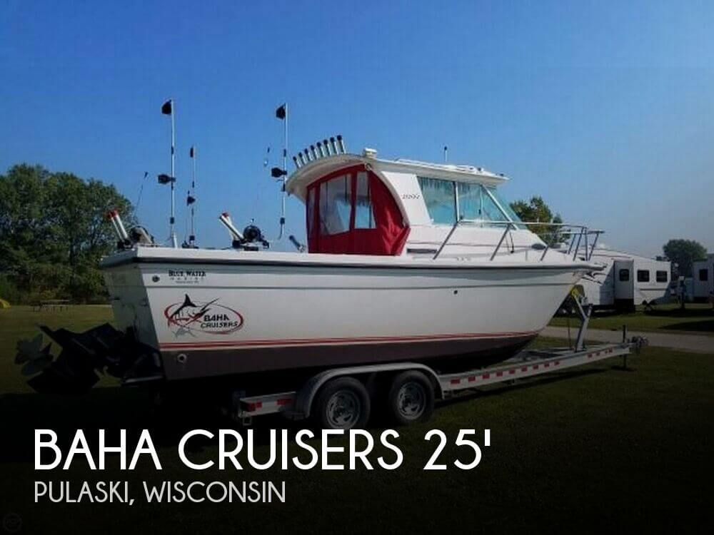 Used Boats For Sale in Appleton, Wisconsin by owner | 2009 Baha Cruisers 25