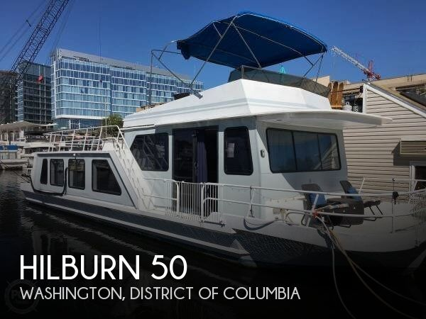 Used Houseboats For Sale by owner | 1985 Hilburn 50