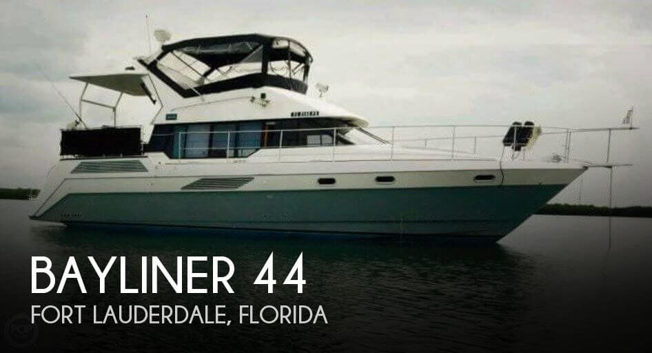Used Bayliner Motoryachts For Sale by owner | 1990 Bayliner 4387