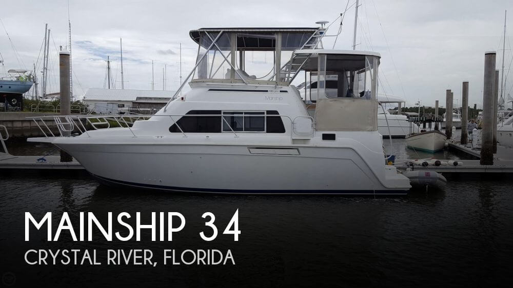 Used Mainship Boats For Sale by owner | 1996 Mainship 34