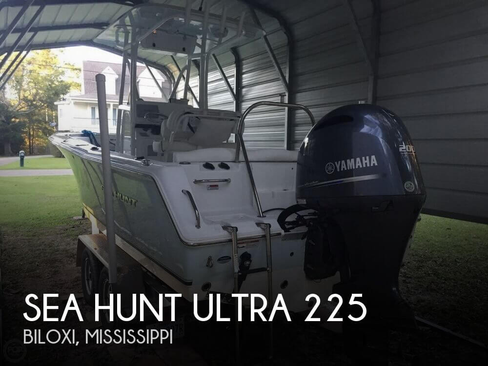 Used Boats For Sale in Mississippi by owner   2015 Sea Hunt 22