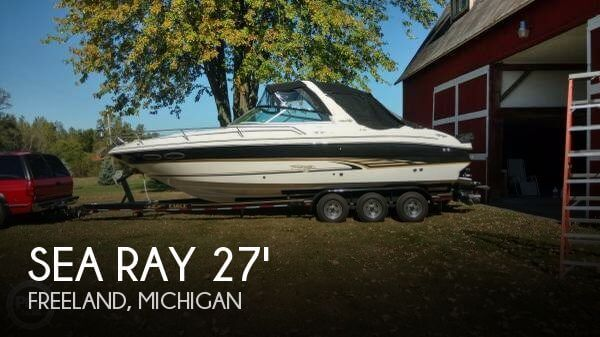 Used Boats For Sale in Lansing, Michigan by owner | 2001 Sea Ray 28
