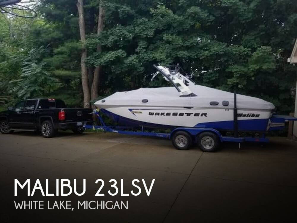 Used Boats For Sale in Saginaw, Michigan by owner | 2015 Malibu 23