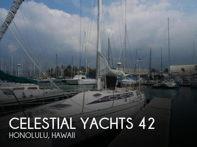 Used Boats For Sale in Hawaii by owner | 1992 Celestial Yachts 42