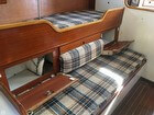 Starboard Bench Seat, Berth, And Storage