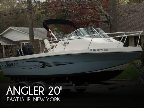 Used Angler Boats For Sale by owner | 2008 Angler 20