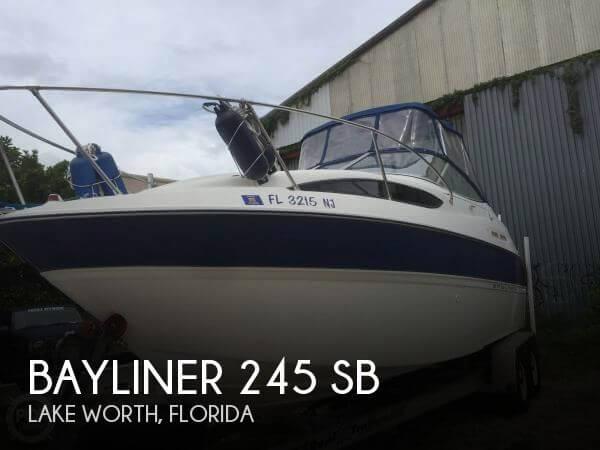 Used Bayliner Boats For Sale in Florida by owner | 2004 Bayliner 25