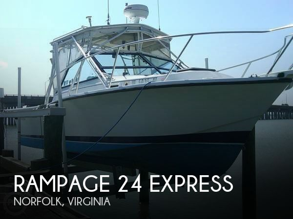 Used Rampage Boats For Sale by owner | 1986 Rampage 24