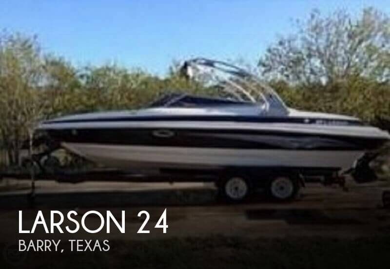 Used Boats For Sale in Waco, Texas by owner | 2007 Larson 24
