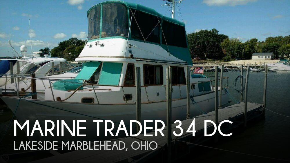 Used Boats For Sale in Canton, Ohio by owner   1983 Marine Trader 34