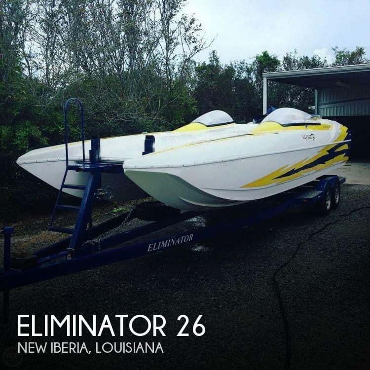 Used ELIMINATOR Boats For Sale by owner | 2002 Eliminator 26
