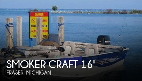 2007 Smoker Craft boat for sale, model of the boat is 161 Pro Angler & Image # 1 of 40