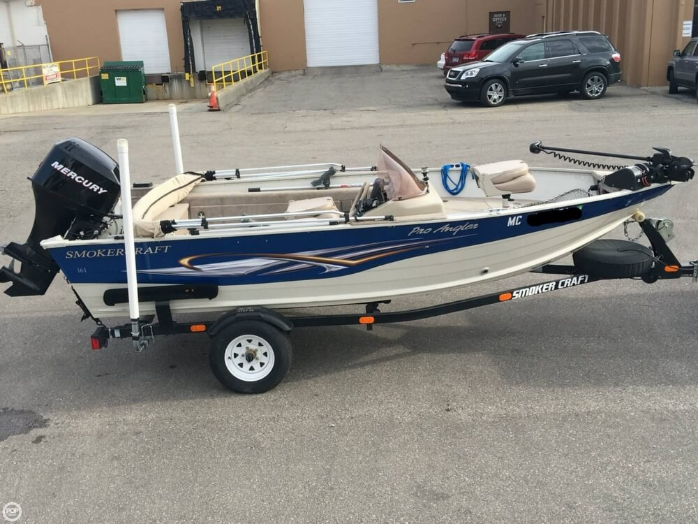 2007 Smoker Craft boat for sale, model of the boat is 161 Pro Angler & Image # 2 of 40