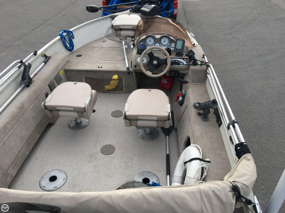 2007 Smoker Craft boat for sale, model of the boat is 161 Pro Angler & Image # 4 of 40