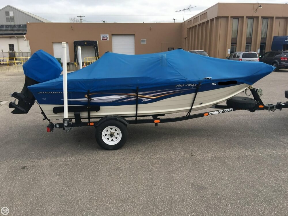 2007 Smoker Craft boat for sale, model of the boat is 161 Pro Angler & Image # 12 of 40