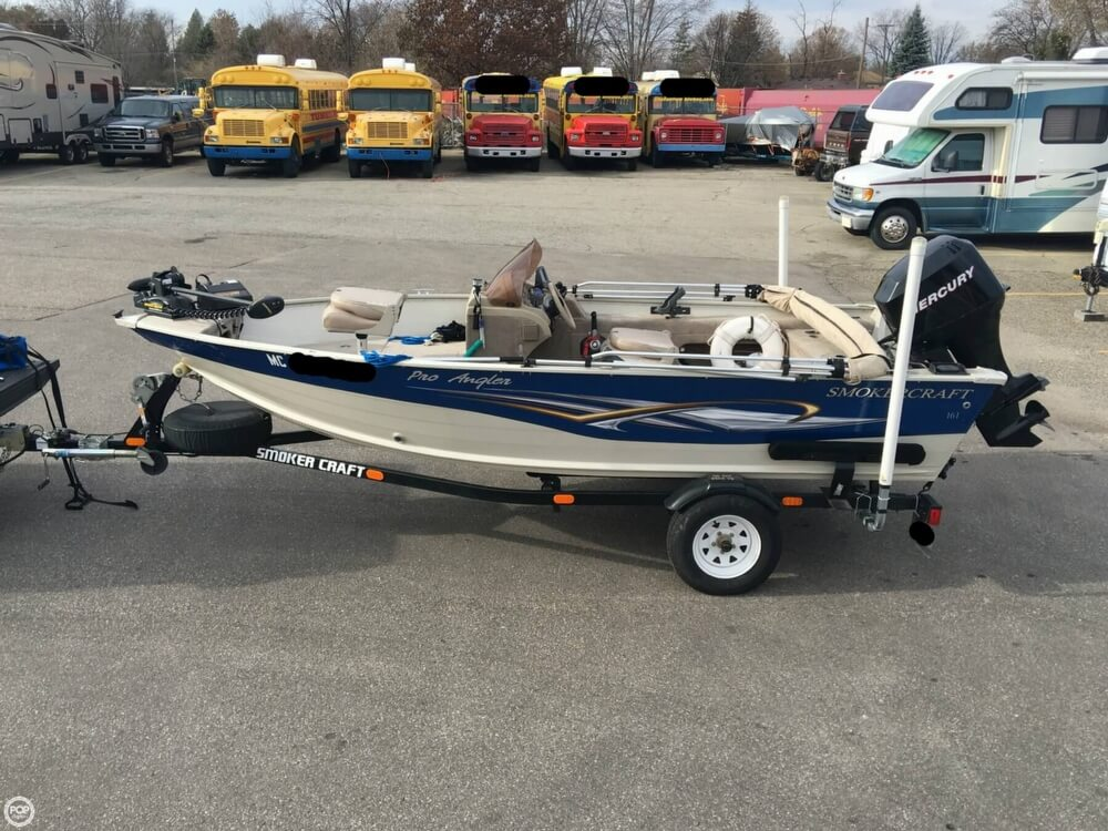 2007 Smoker Craft boat for sale, model of the boat is 161 Pro Angler & Image # 13 of 40