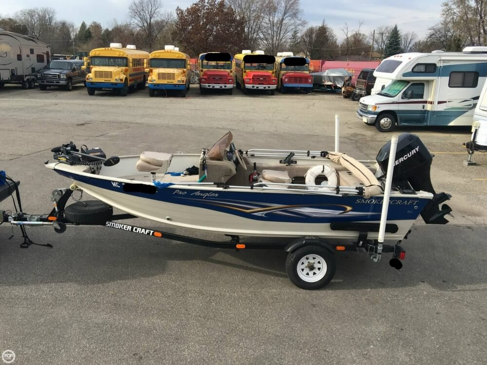 2007 Smoker Craft boat for sale, model of the boat is 161 Pro Angler & Image # 14 of 40