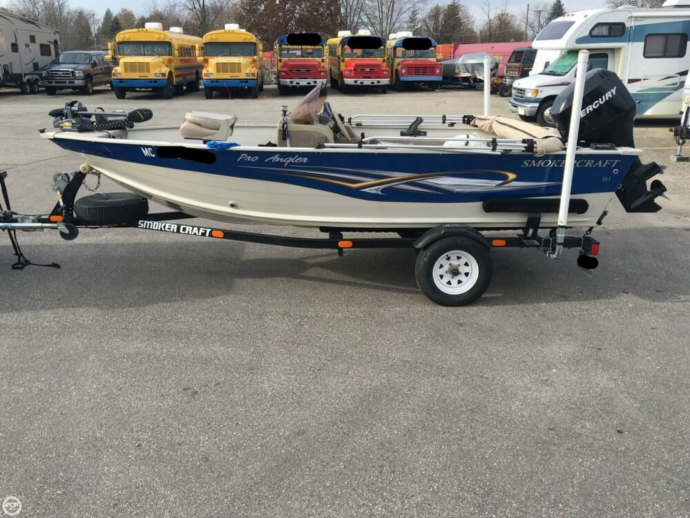 2007 Smoker Craft boat for sale, model of the boat is 161 Pro Angler & Image # 15 of 40