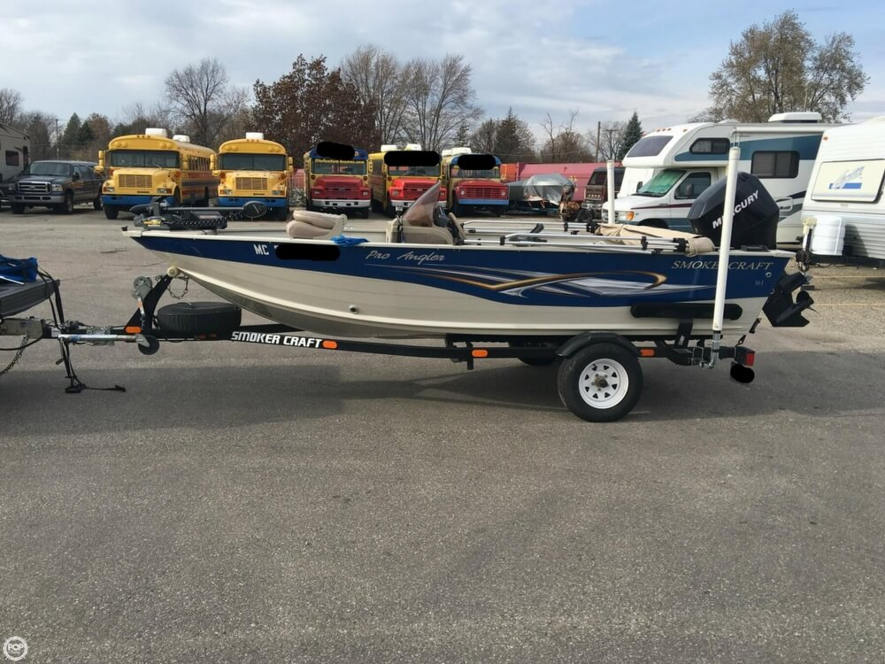 2007 Smoker Craft boat for sale, model of the boat is 161 Pro Angler & Image # 16 of 40