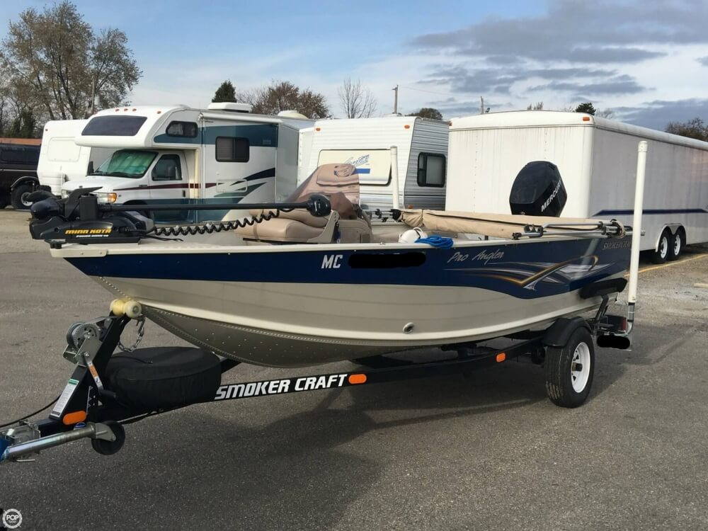 2007 Smoker Craft boat for sale, model of the boat is 161 Pro Angler & Image # 17 of 40