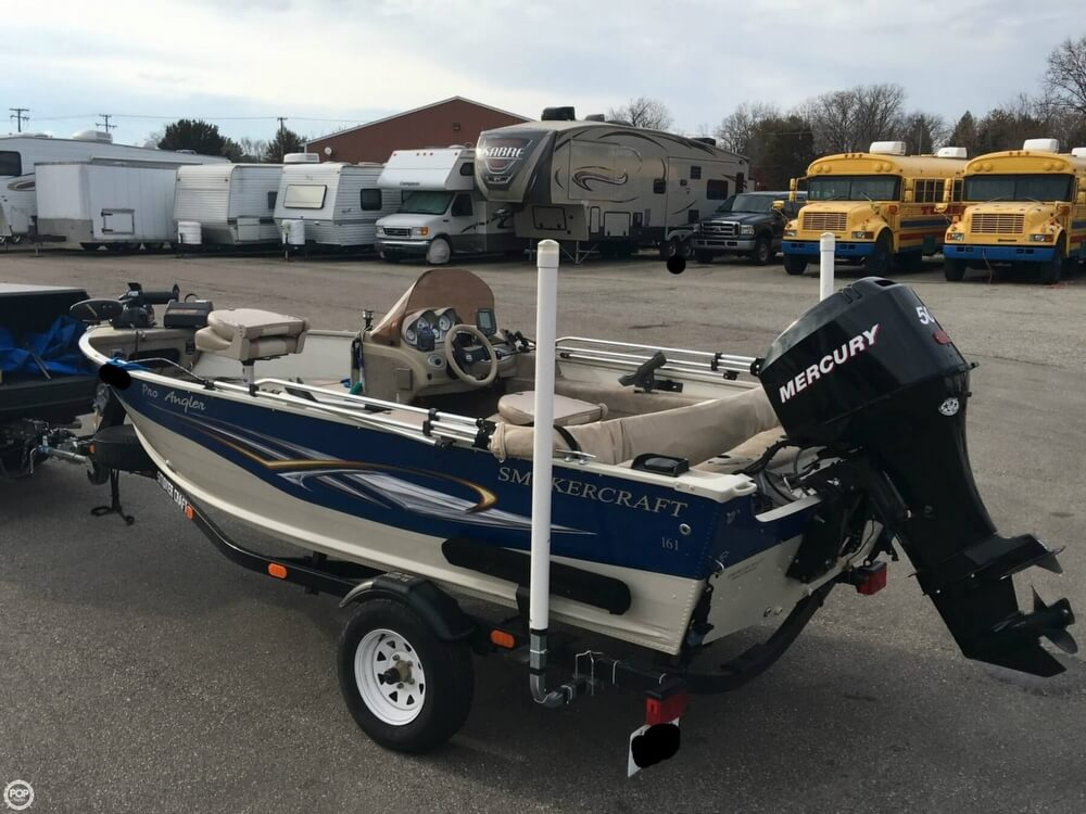 2007 Smoker Craft boat for sale, model of the boat is 161 Pro Angler & Image # 19 of 40