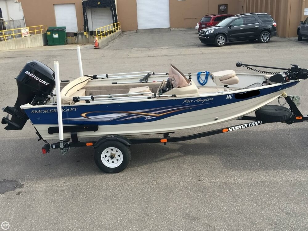 2007 Smoker Craft boat for sale, model of the boat is 161 Pro Angler & Image # 20 of 40