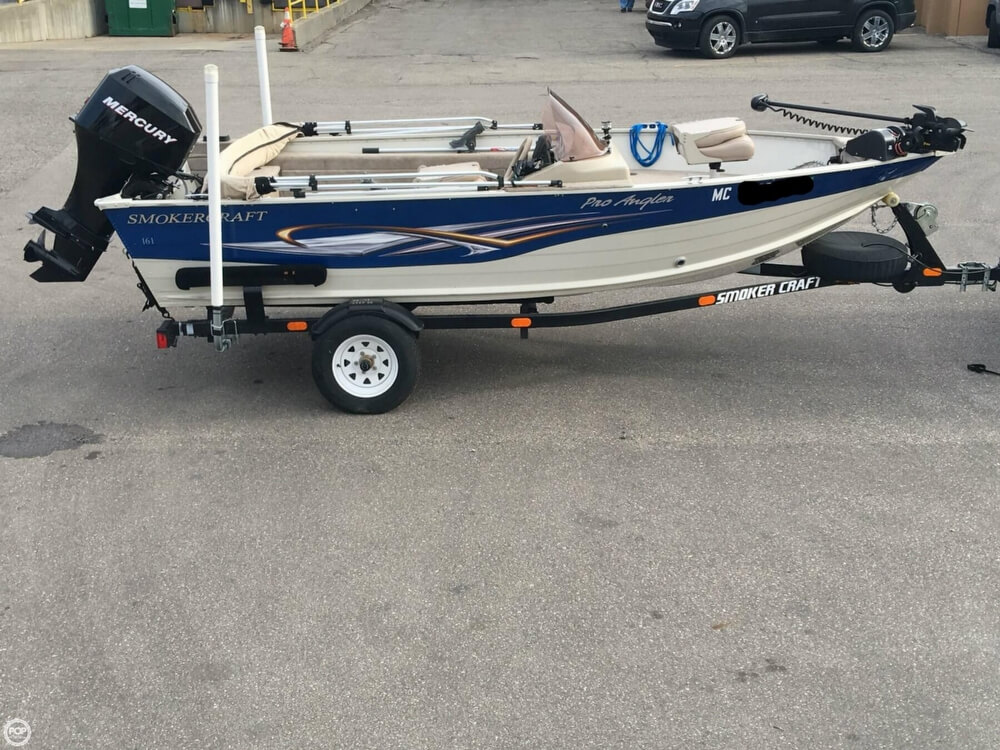 2007 Smoker Craft boat for sale, model of the boat is 161 Pro Angler & Image # 21 of 40