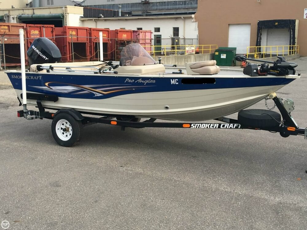 2007 Smoker Craft boat for sale, model of the boat is 161 Pro Angler & Image # 22 of 40