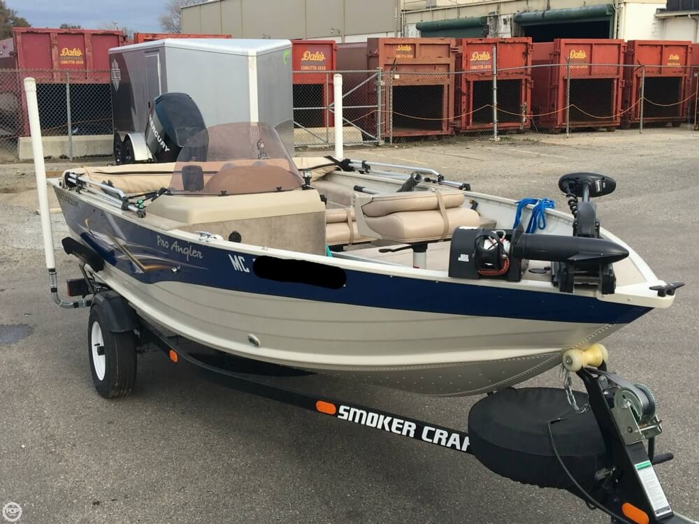 2007 Smoker Craft boat for sale, model of the boat is 161 Pro Angler & Image # 25 of 40