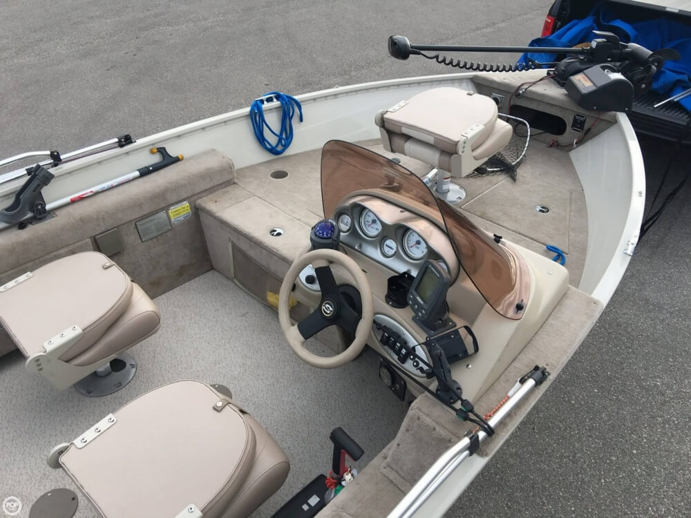 2007 Smoker Craft boat for sale, model of the boat is 161 Pro Angler & Image # 39 of 40