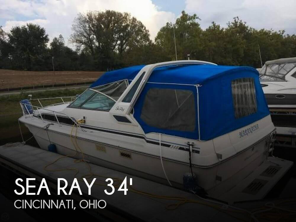 Used Sea Ray Boats For Sale in Ohio by owner | 1986 Sea Ray Sundancer 340