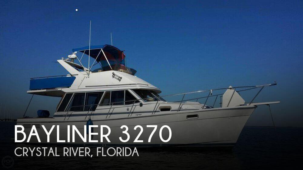 Used Bayliner Boats For Sale in Florida by owner | 1987 Bayliner 32