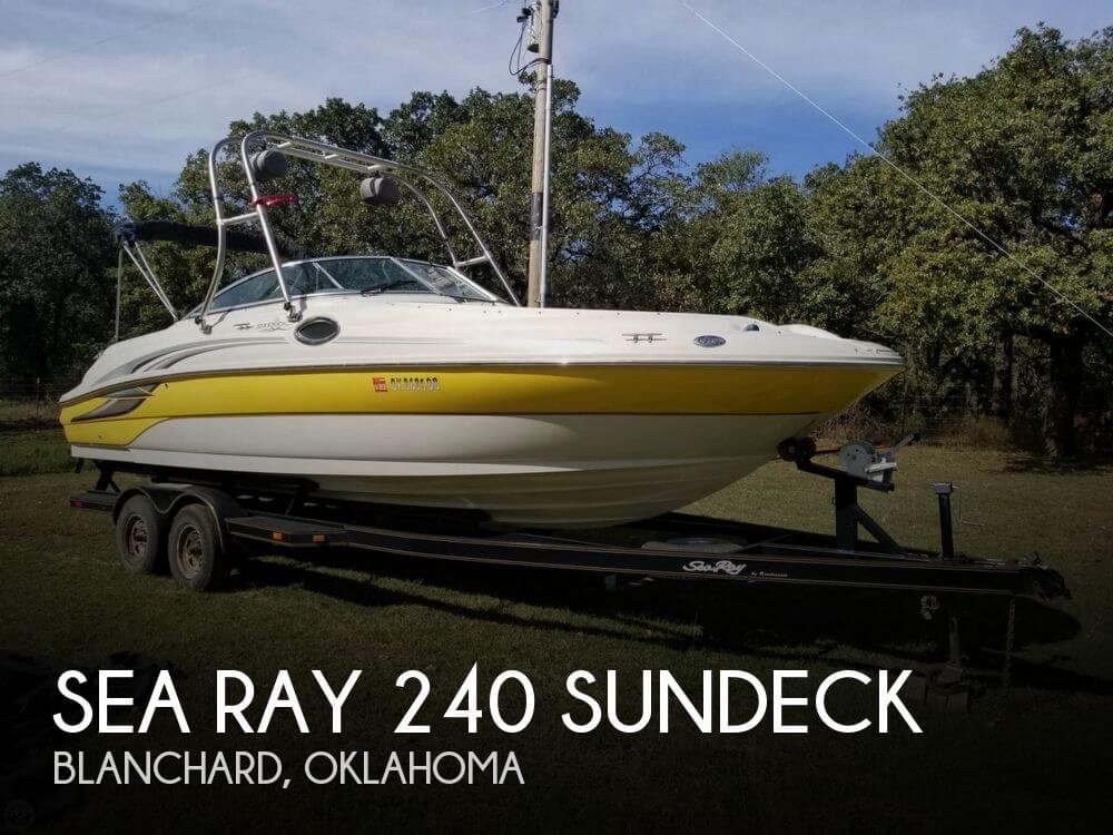 Used Sea Ray Deck Boats For Sale by owner | 2003 Sea Ray 26