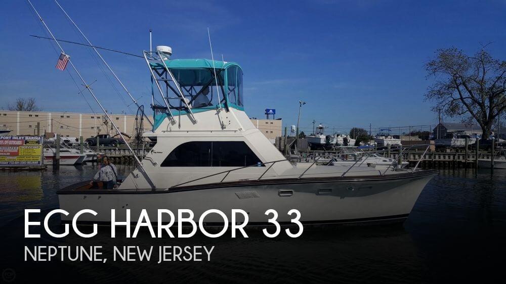Used Egg Harbor Boats For Sale by owner   1972 Egg Harbor 33