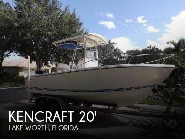 Used Kencraft Boats For Sale by owner | 2000 Kencraft Challenger 206