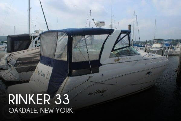 Used Rinker Boats For Sale in Bridgeport, Connecticut by owner | 2005 Rinker 33